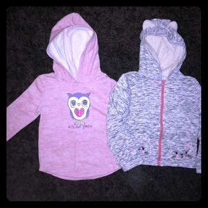 Girls Sweatshirt Bundle Size 6